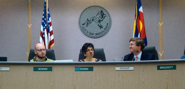 Mary chairs the city's planning board